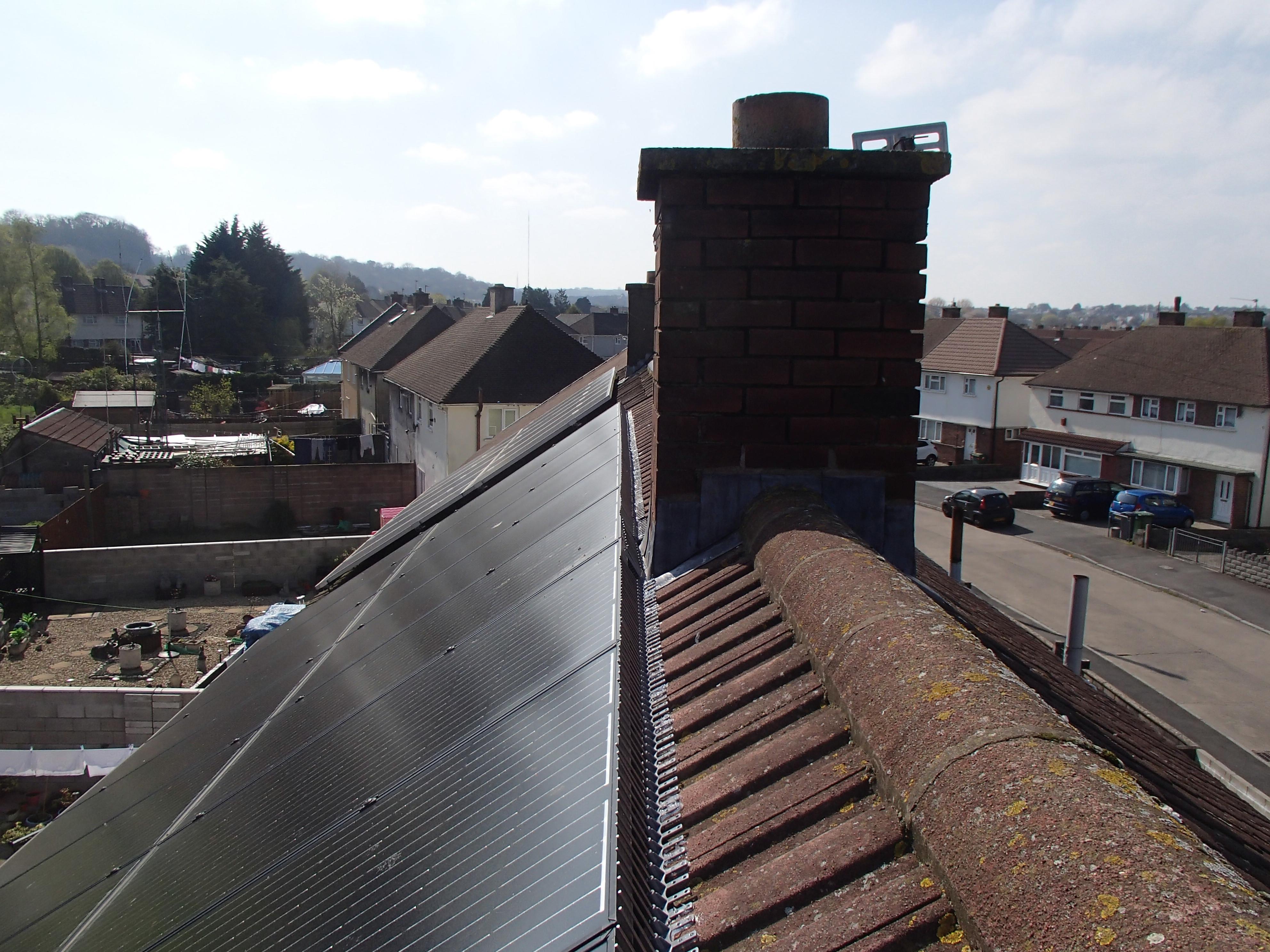 Solar Panel Pigeon Spikes_2