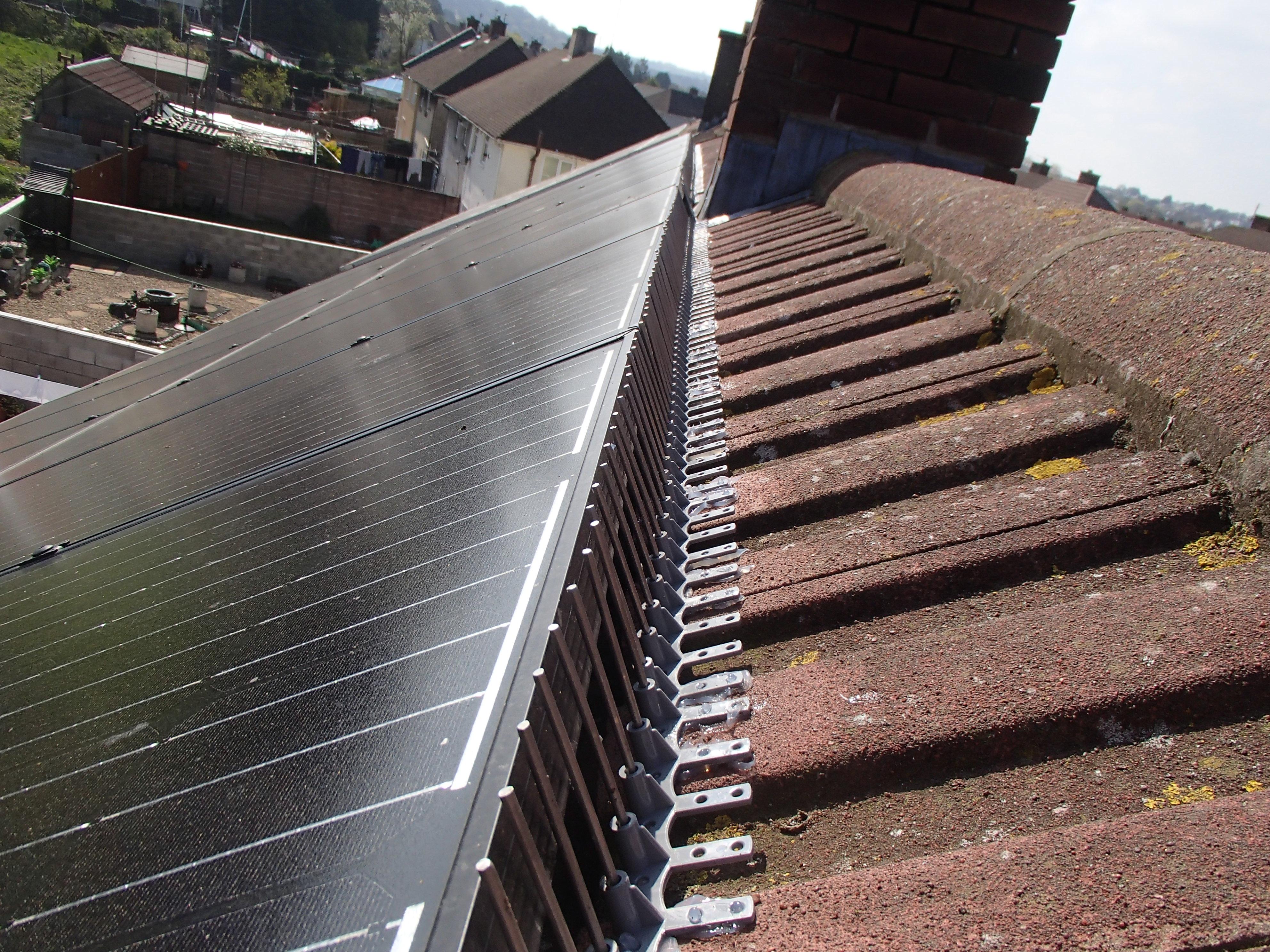 Solar Panel Pigeon Spikes_3